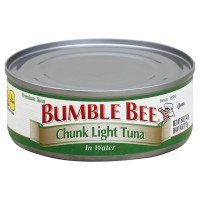 bumble bee chunk light tuna in water 5 oz. Black Bedroom Furniture Sets. Home Design Ideas