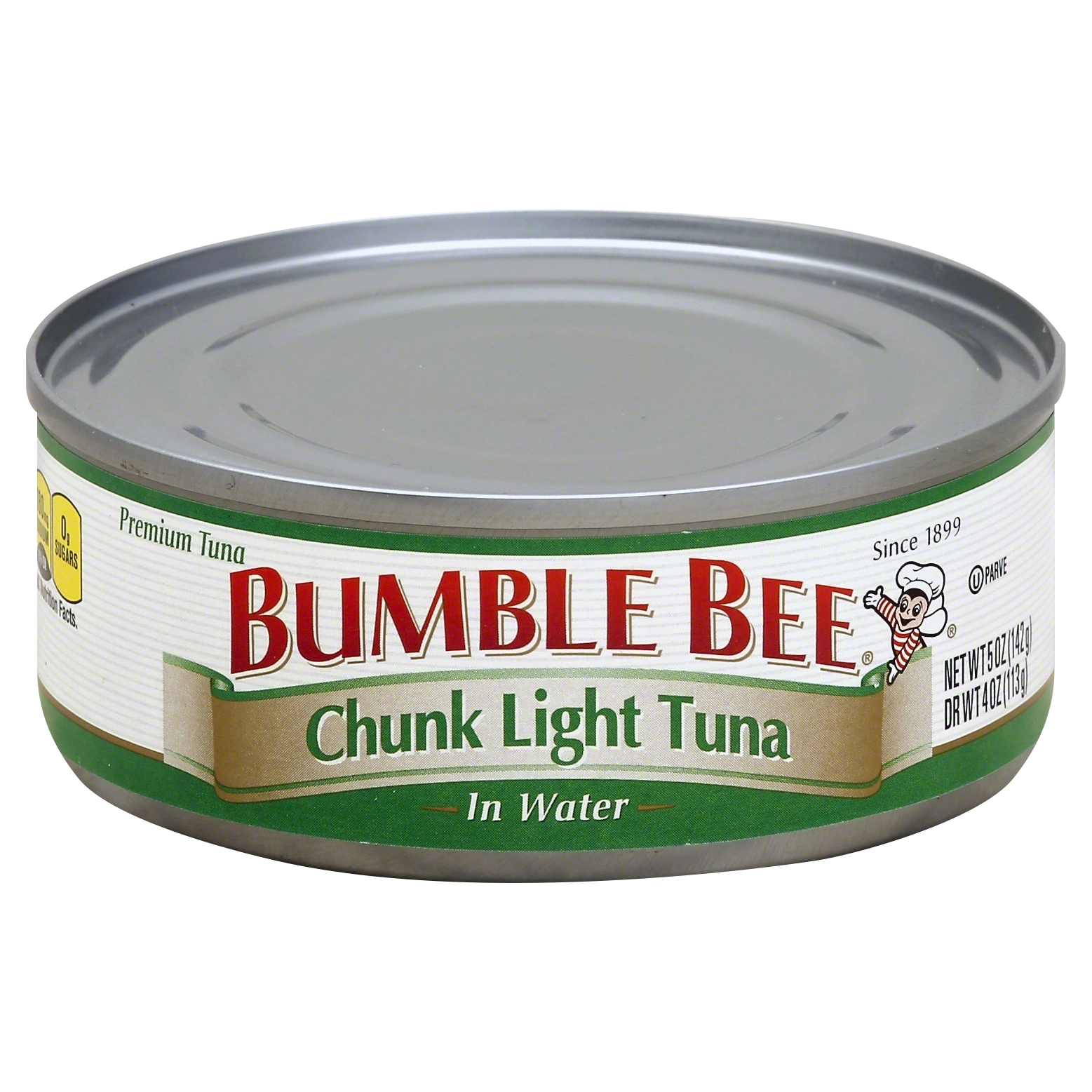 bumble bee chunk light tuna in water 5 oz starfish market. Black Bedroom Furniture Sets. Home Design Ideas