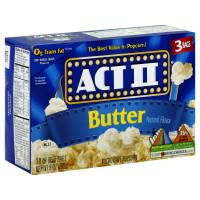 Act II Butter 3 PK