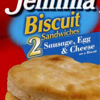 Aunt Jemima Biscuit Sandwich 2 CT