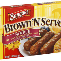Banquet Brown'N Serve Maple Sausage Links 6.4 oz