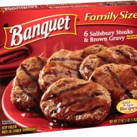 Banquet Salisbury Steak and Brown Gravy 27 OZ