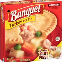 Banquet Turkey Pot Pie 7 OZ