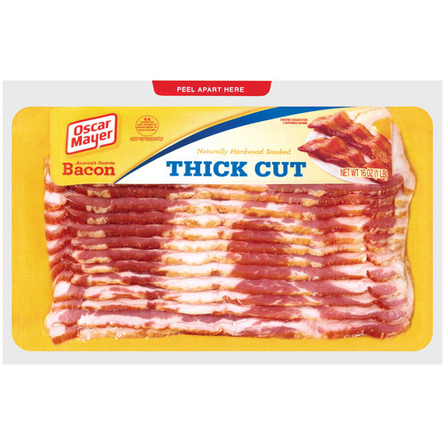 Oscar Mayer Thick Sliced Bacon 16 Oz on oscar mayer pork sausage