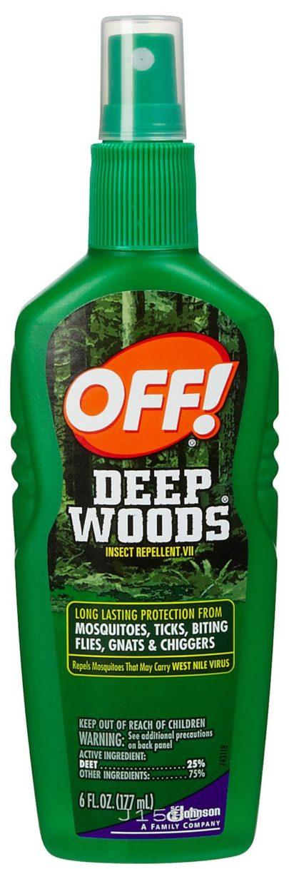 Off Deep Wood Off Spray 6 oz