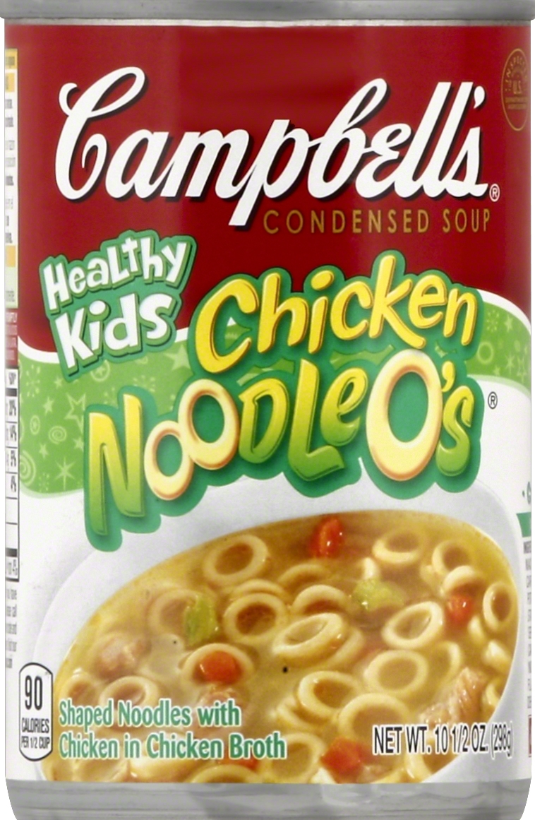 campbell's chicken noodle o's 10.5 oz.   starfish market