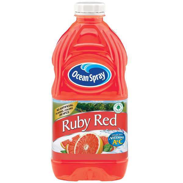 ocean spray ruby red grapefruit juice 64 oz