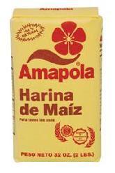 AMAPOLA - HARINA DE MAIZ