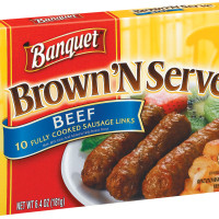 Banquet Brown'N Serve Beef Links 6.4 OZ