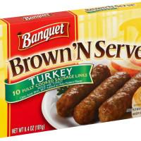 Banquet Brown'N Serve Turkey Links 6.4oz