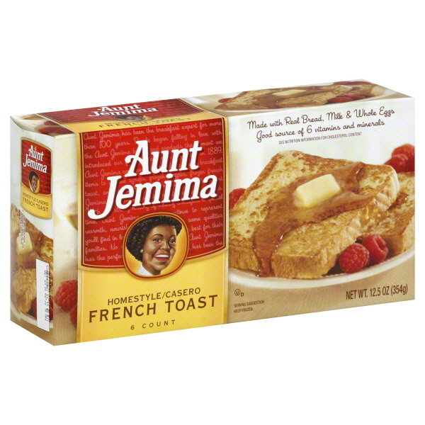 Aunt Jemima Homestyle French Toast 12.5 oz. | Starfish Market