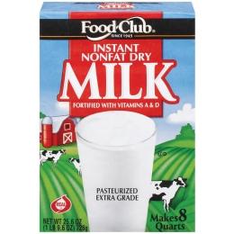 Food Club Instant Milk 1 qt